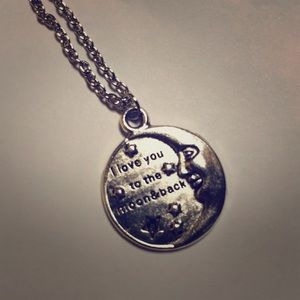 Jewelry - Silver chain with Sweet charm. Brand new!
